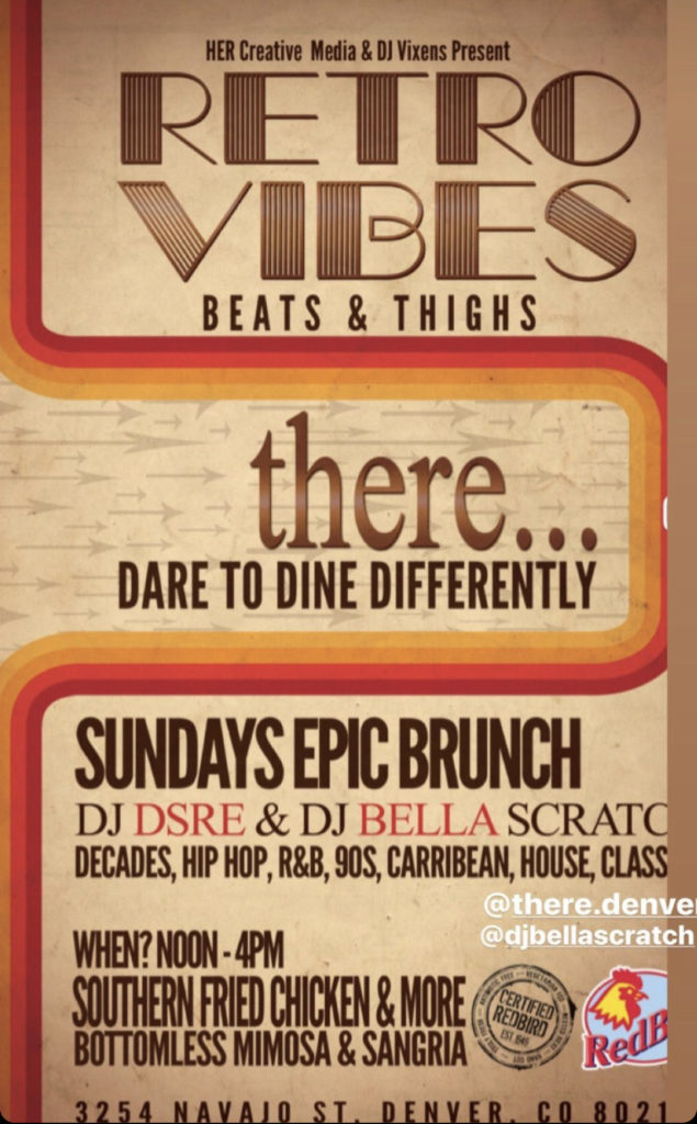 Retro Vibes Party Brunch